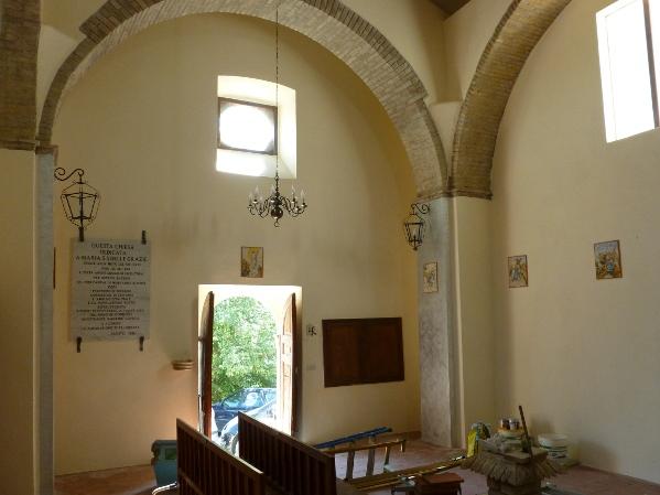Chiesa interno dopo restauro