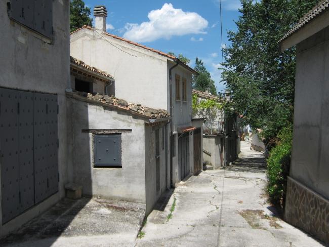 Strada principale attuale