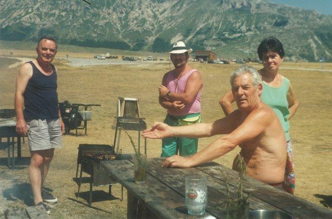 Campo Imperatore anni 80