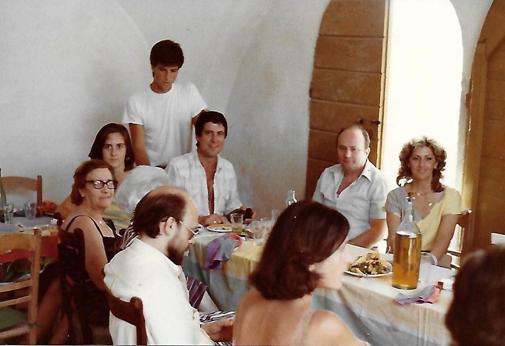 Anni 80  - Foto di gruppo nell