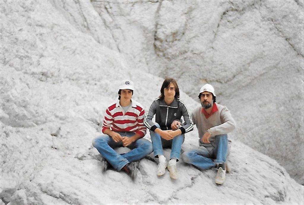 Anni 80 - Adriano, Guido, Giulio